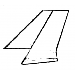 F-12A - Striaght Fin and Rudder